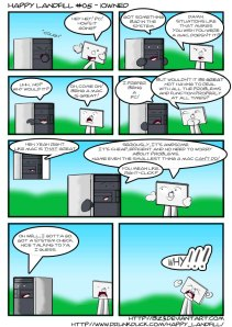 Mac vs PC Comics