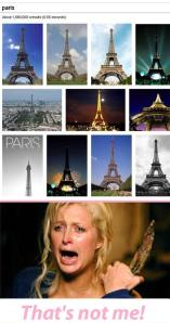 Reason why paris hilton is in a really bad mood : LoL Google images