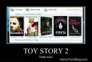 TOY STORY 2 IS ONE OF THE SCARIEST MOVIES EVER :D